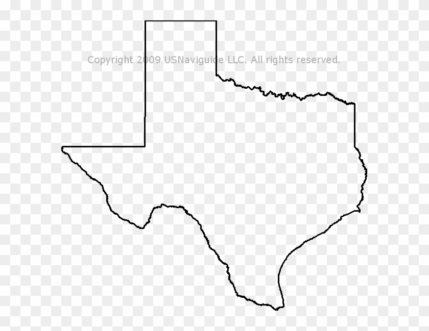 State Of Texas Map Outline.Texas Map Outline Png Texas State Outline Transparent Png