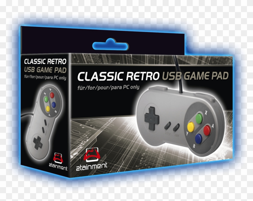 Retro Gamepad - Handheld Game Console, HD Png Download - 1000x1000