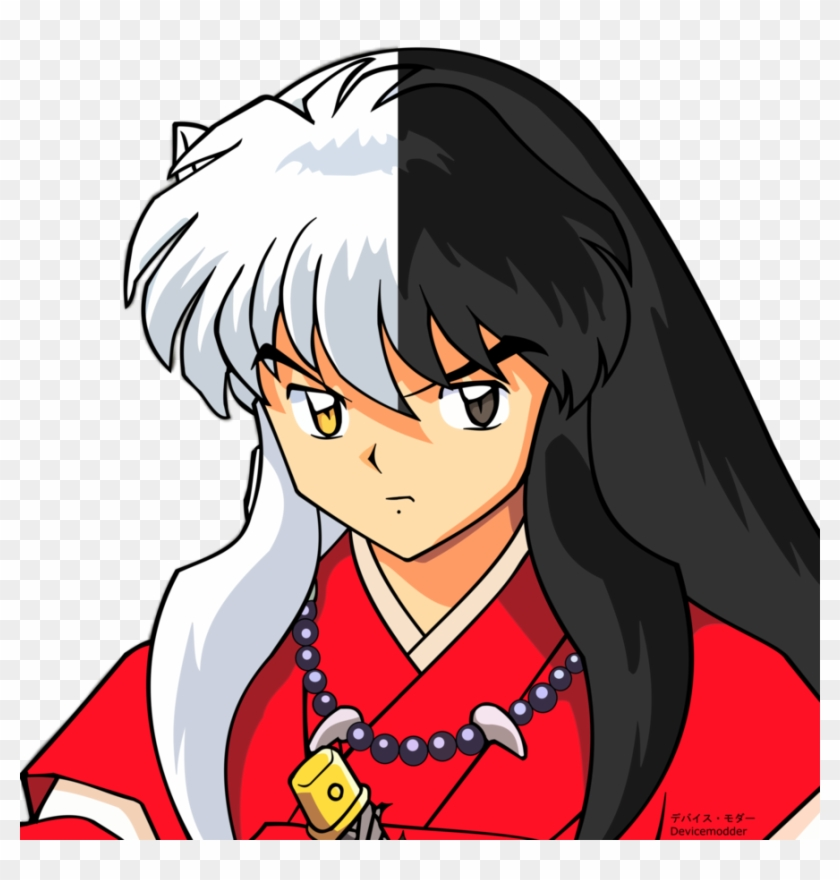 Inuyasha S Human And Yokai Form Yo Kai Watch Inuyasha Hd Png