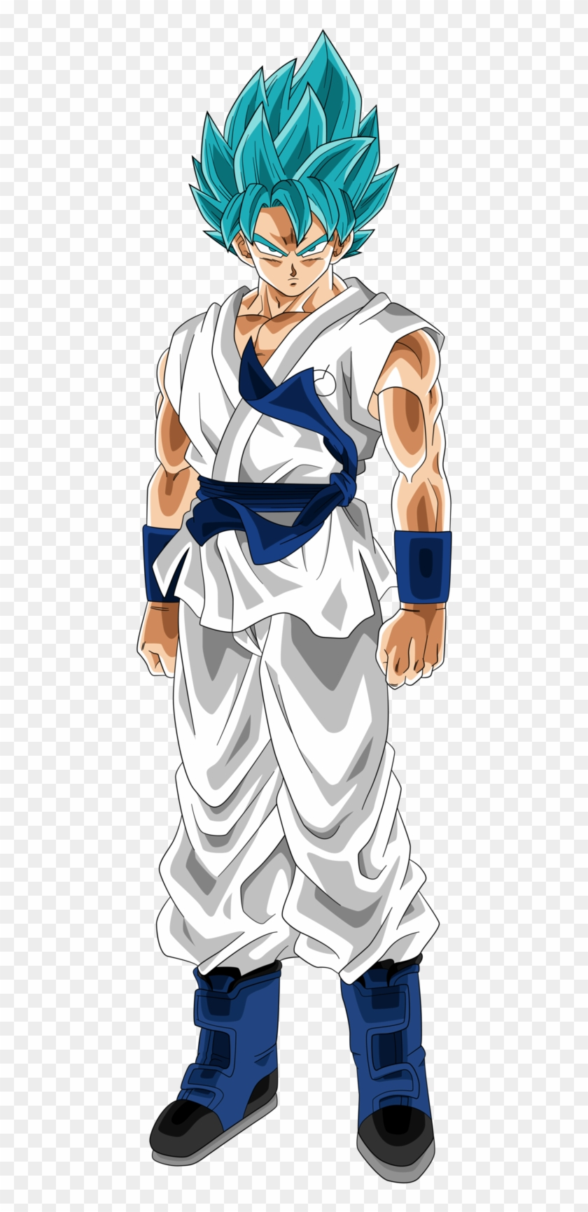 Goku Dragon Ball Heroes Png Download Dragon Ball Heroes 3d Transparent Png 453x1652 5824325 Pngfind