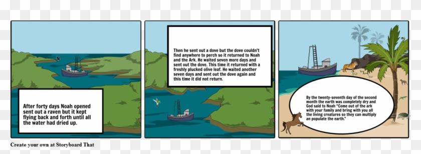 Noah's Ark - Cartoon, HD Png Download - 1164x385(#5830453) - PngFind