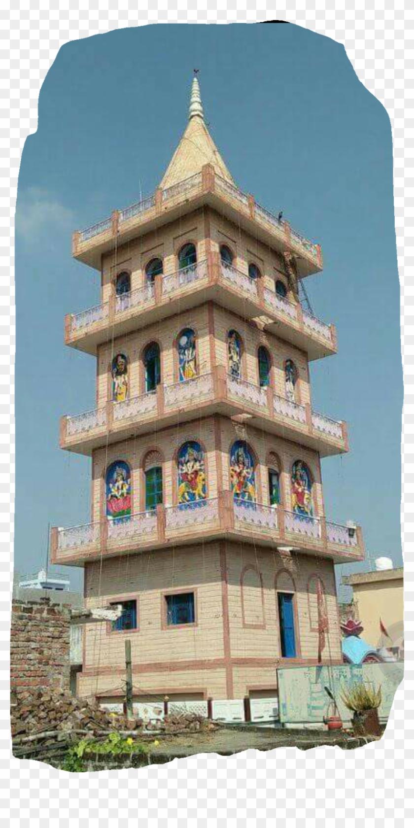 Maa Bhagawati - Hindu Temple, HD Png Download - 838x1600