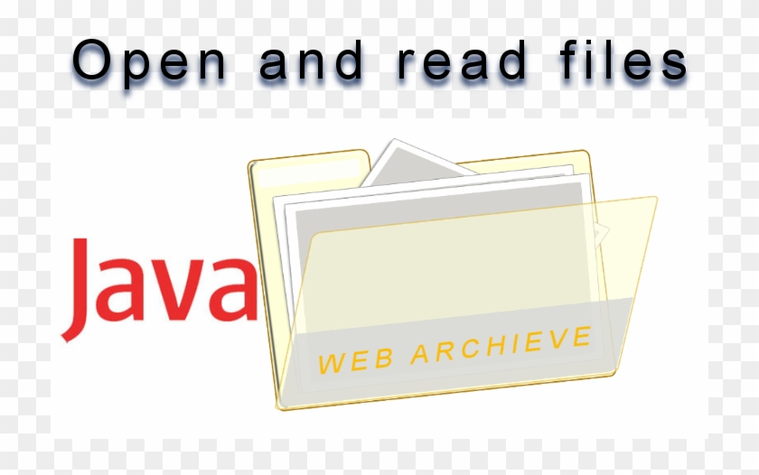 Open And Read Any File In A - Java, HD Png Download - 728x469