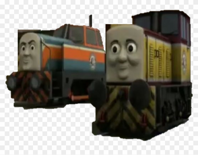 Den And Dart From Thomas , Png Download - Thomas The Tank