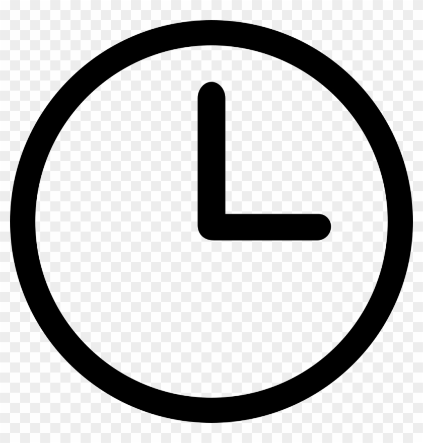 Png File Svg - Clock Icon, Transparent Png - 980x980