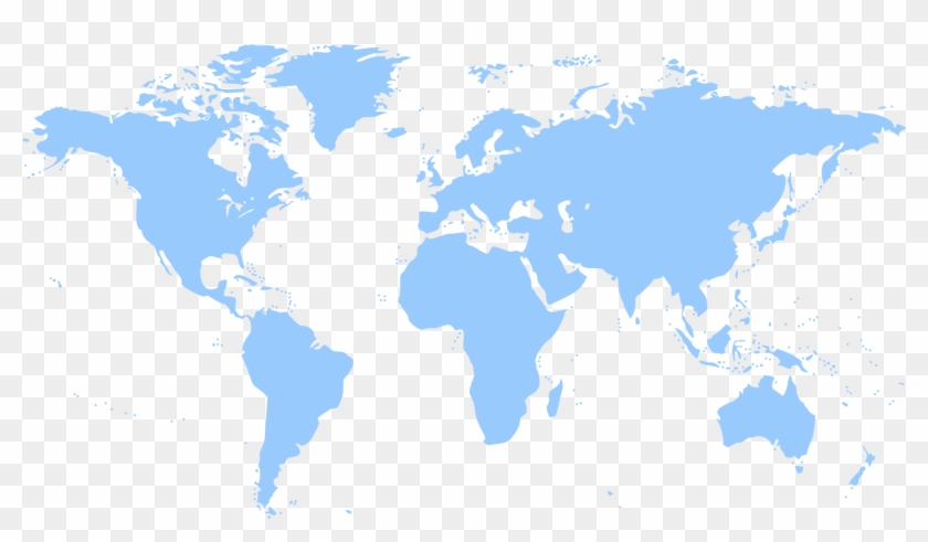 Map Of The World Germany.World Map Frankfurt Germany On A World Map Hd Png Download