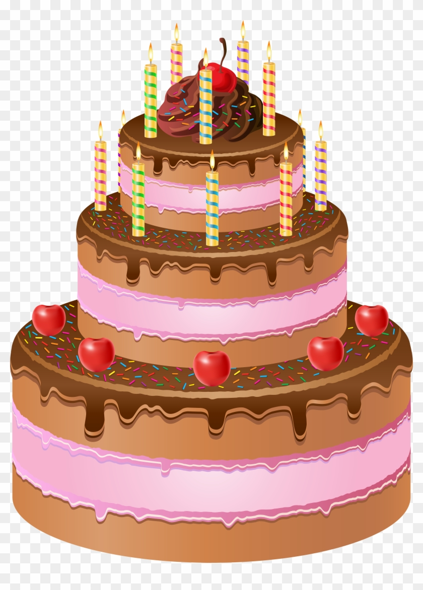 Happy Birthday Cake Png Transparent Png 5932x8000 592738 Pngfind