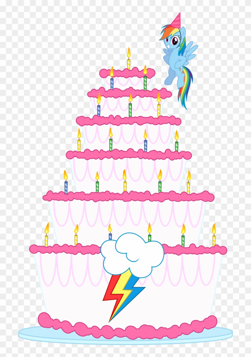Excellent My Little Pony Clipart Birthday Cake Rainbow Dash Birthday Cake Funny Birthday Cards Online Eattedamsfinfo