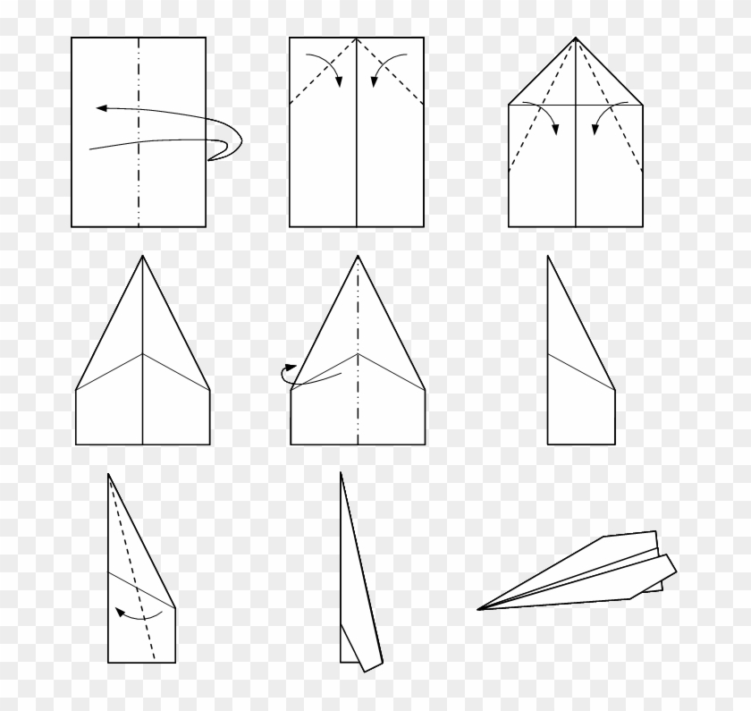 Make A Easy Paper Plane Hd Png Download 681x715596354