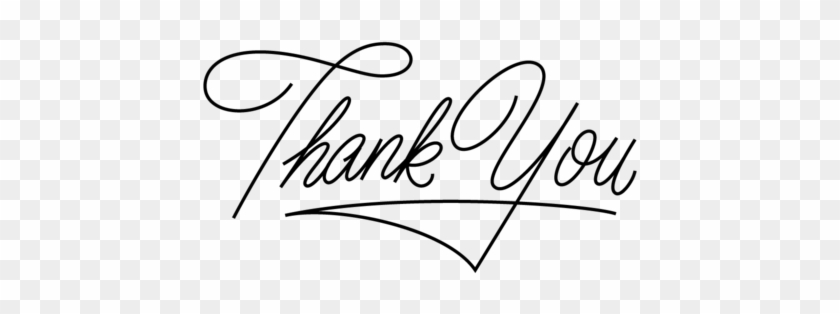 Thank You Png Thank You Design Png Transparent Png 1000x404