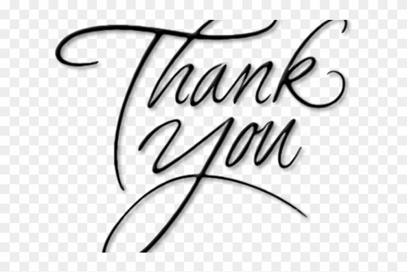 Thank You Png Transparent Images Calligraphy Png Download