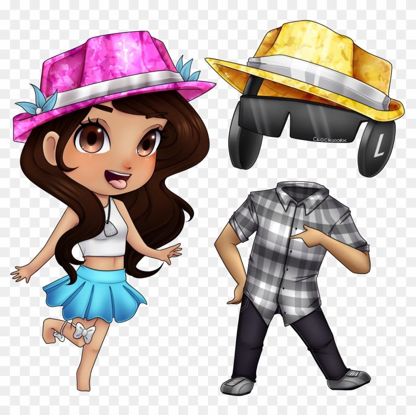 Fashion Famous Roblox Fan Art Hd Png Download 2500x2500