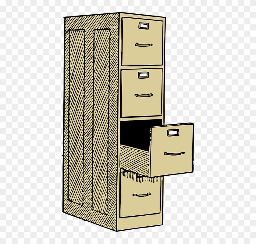 File Cabinet Office Furniture File Storage Paper - File ...