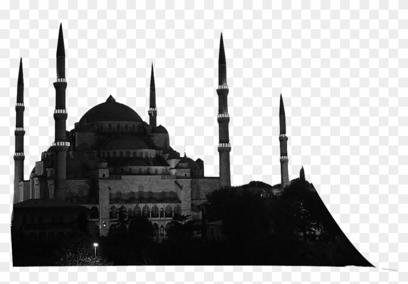 Silhouette Istanbul - Sultan Ahmed Mosque, HD Png Download