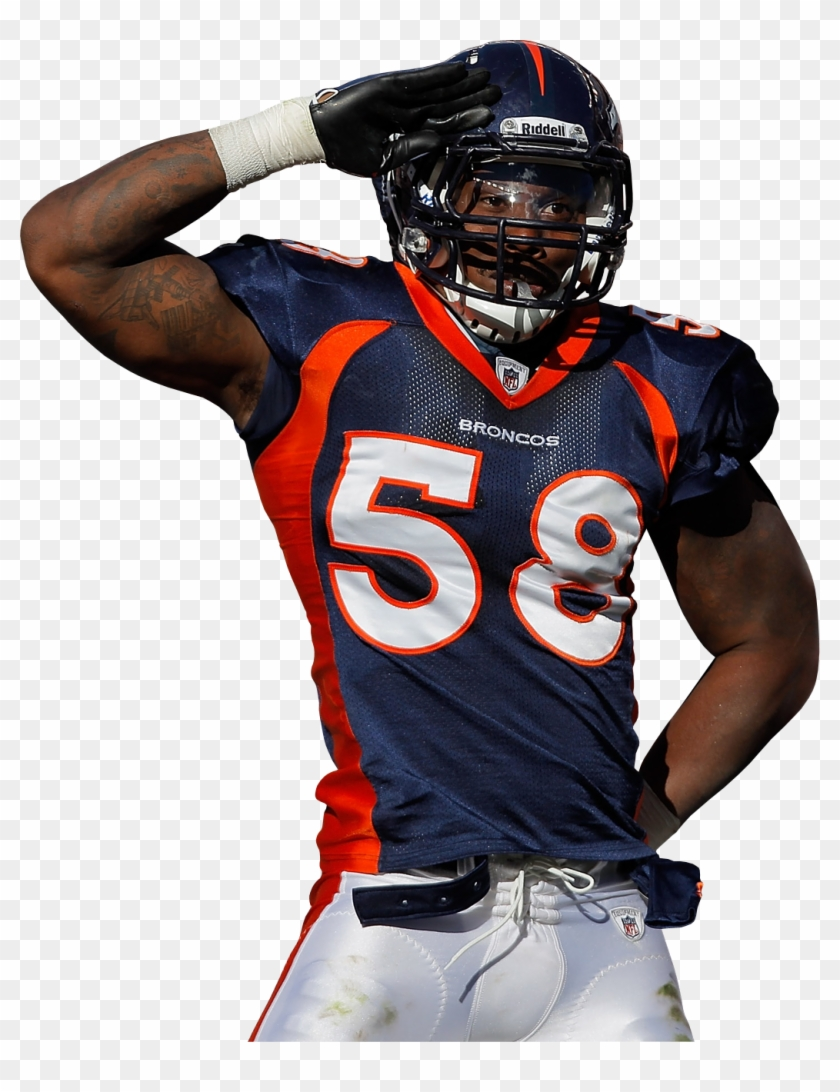 Alumni Denver Broncos Von Miller Mile High Salute, HD Png