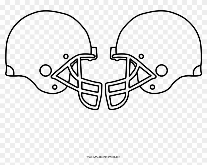 Denver Broncos Coloring Pages - Football Helmet, HD Png ...