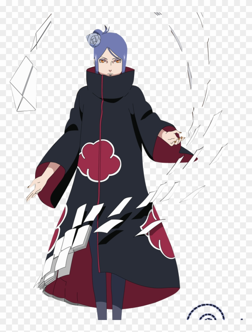 Konan Akatsuki Wallpaper 00202 By Freenarutowallpapercom Konan Naruto Hd Png Download 780x1025 5939106 Pngfind