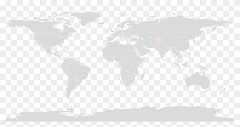 World-map - High Resolution Vector World Map, HD Png Download