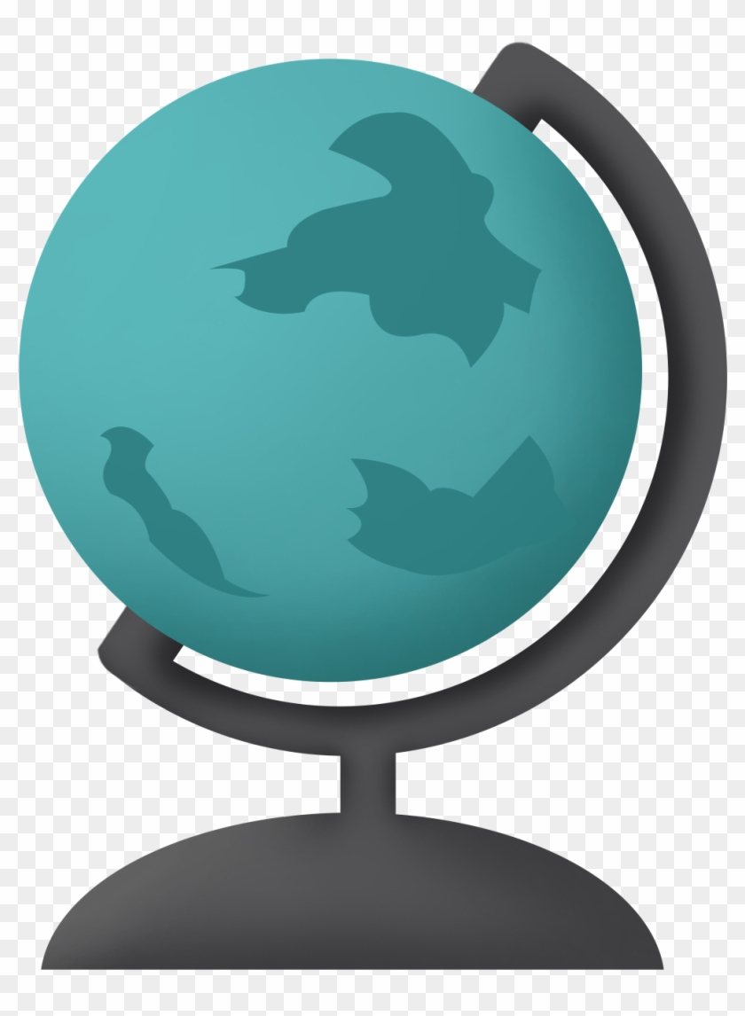 Globe Stationery Cartoon Business Style Png And Psd - Icon