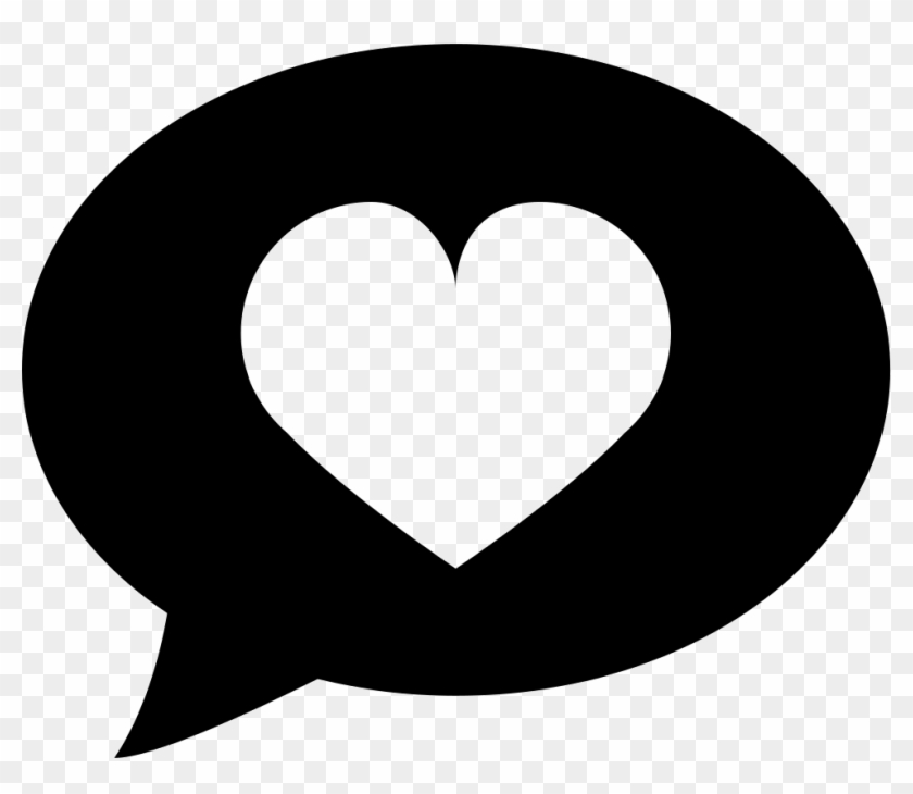 Png File Svg Heart In Speech Bubble Transparent Png 981x806 5976566 Pngfind