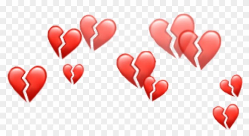 Heart Emojis Png - Heart Emoji Crown Png, Transparent Png