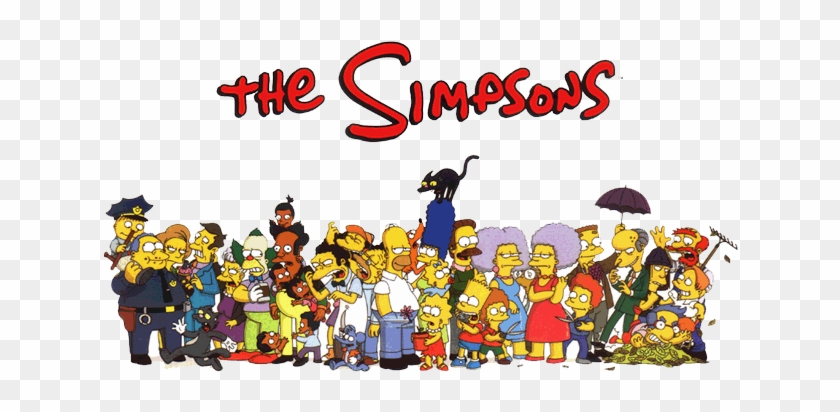 The Simpsons Png Picture Simpsons Wallpaper Logo Transparent Png 640x480 62392 Pngfind