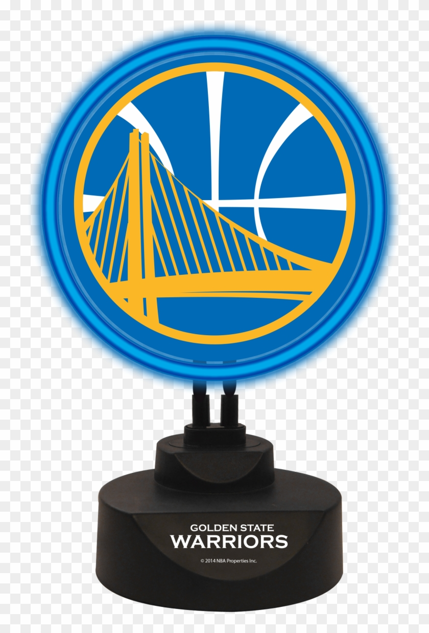 Golden State Warriors Team Logo Neon