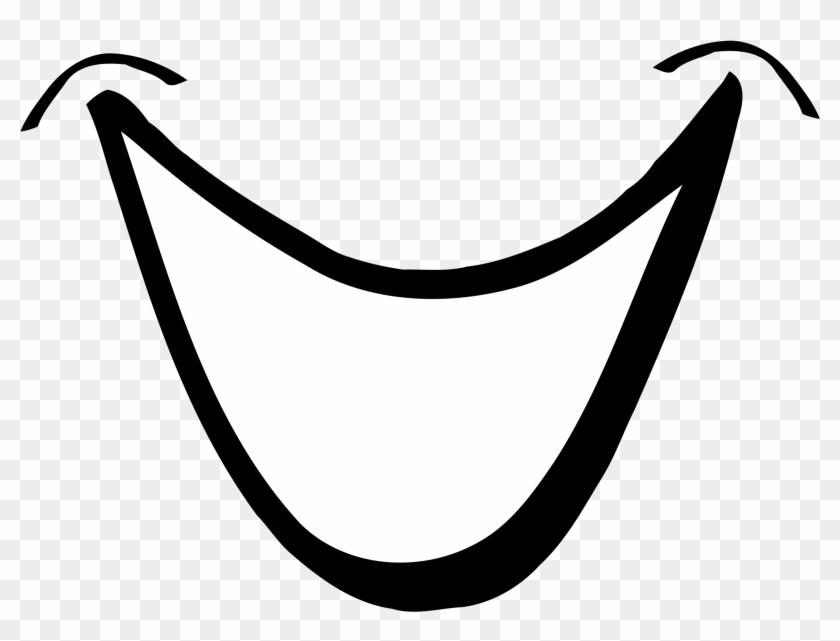Smiling Mouth 1 By Tikigiki Cartoon Smile Clip Art Hd