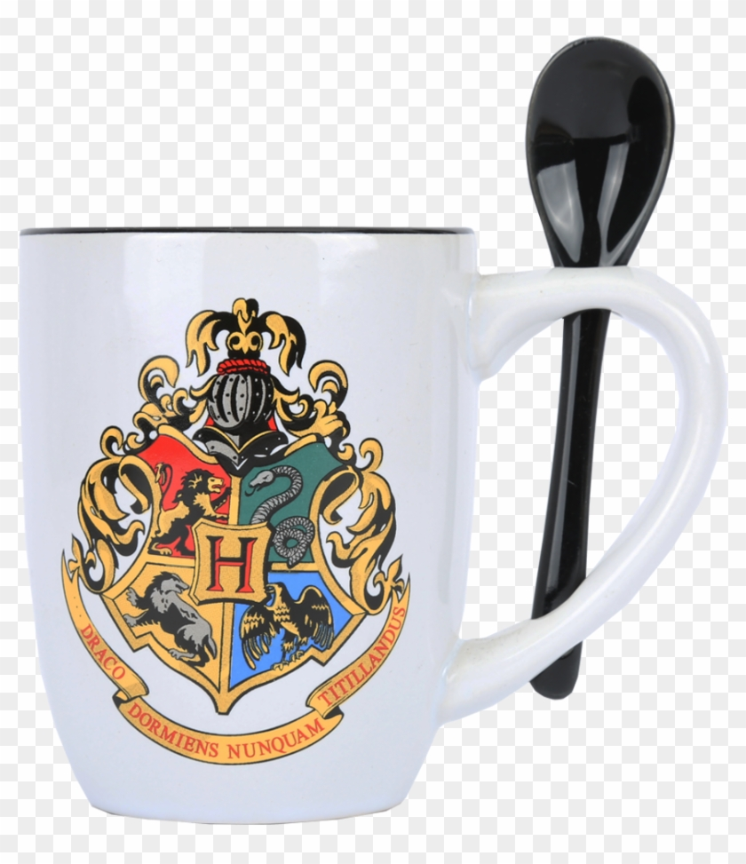 photograph relating to Hogwarts Crest Printable named Hogwarts Mug Spoon - Printable Formal Hogwarts Crest, High definition