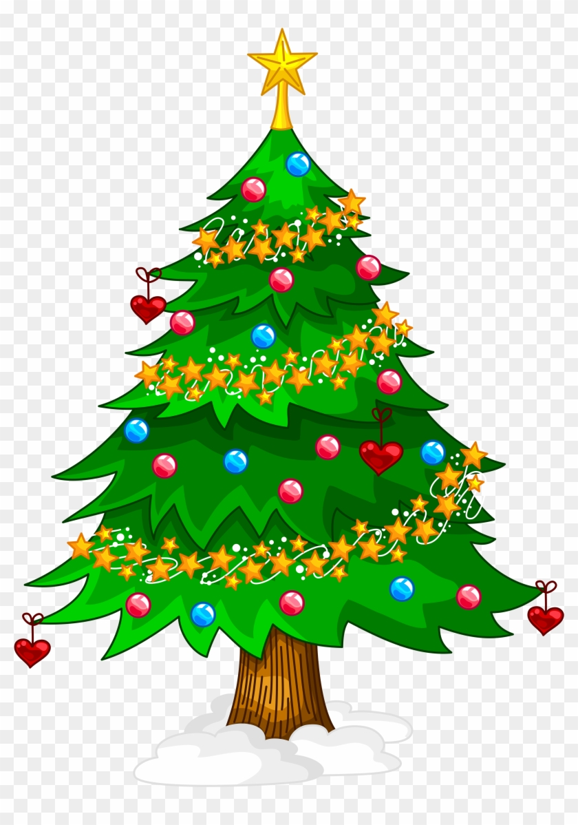 Transparent Xmas Tree Png Clipart Transparent Background