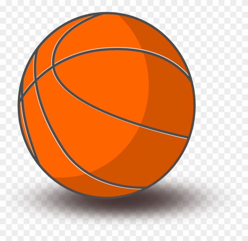 Basketball transparent background. Clip art with