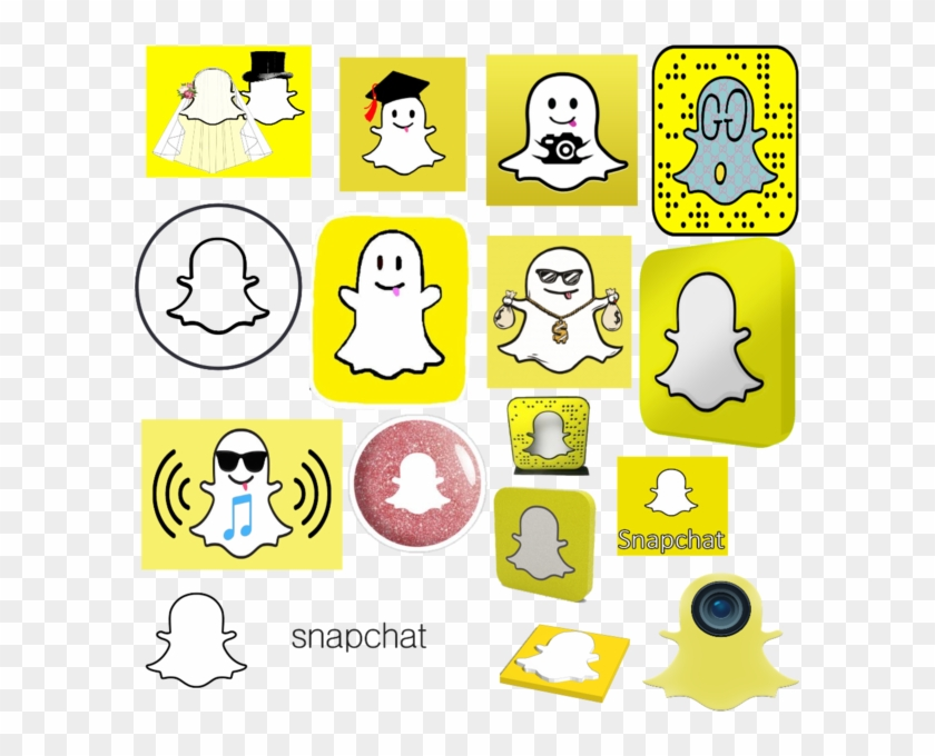 Snapchat Logo Pack - Cool Snapchat, HD Png Download