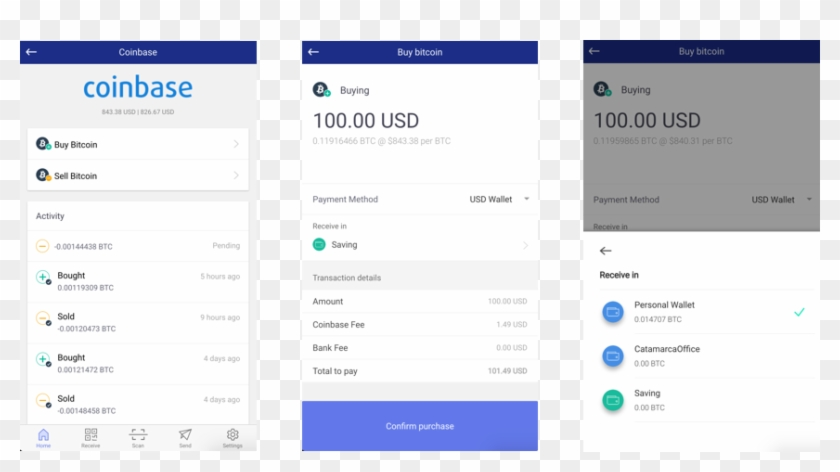 Now, If You Have A Coinbase Account, Just Link It Up - Coinbase App