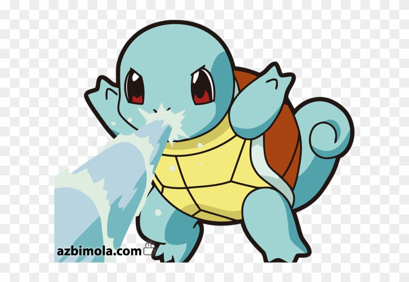 Squirtle Pokemon Hd Png Download 630x498 6004430 Pngfind