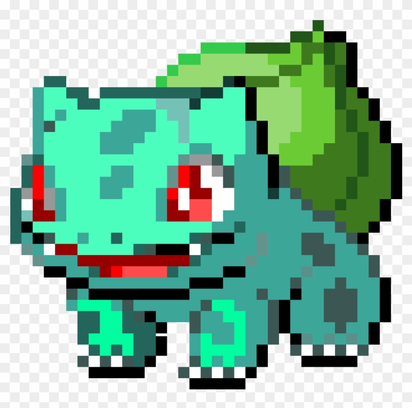 16 Bit Pixels Lion Png - Bulbasaur Pixel Art, Transparent
