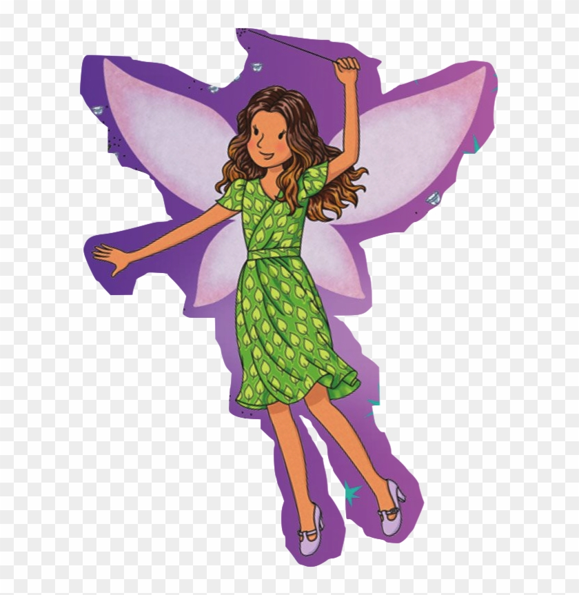 Clip Art Library Stock Rita The Fairy Rainbow Magic - Rita The Frog