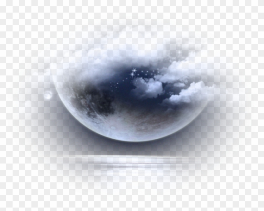 Moon Clouds Background Overlay Aesthetic Icon Moon Manipulation Png Transparent Png 1024x1024 6022534 Pngfind