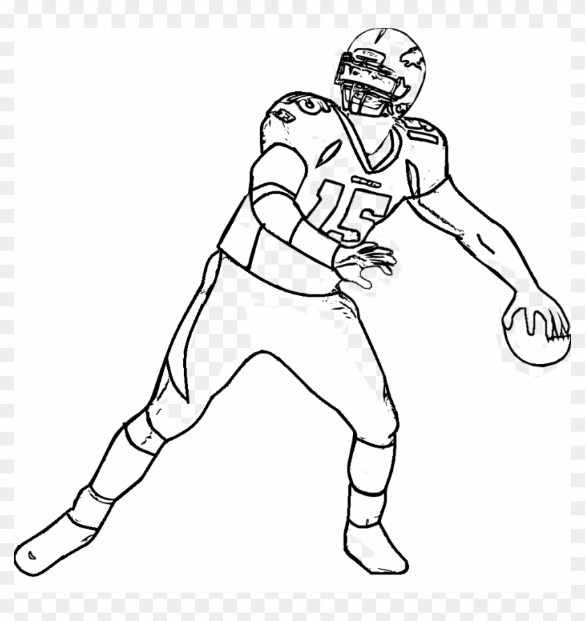 Bronocs Football Players Nfl Coloring Pages Printable