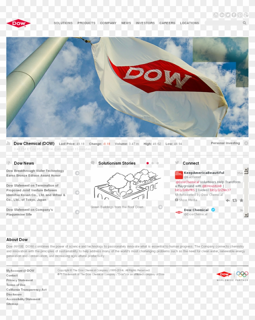 Dow Chemical Company, HD Png Download - 1024x1206(#6073526
