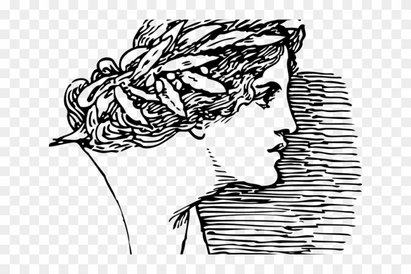 Greek Clipart Flower Crown Women In Rome Drawing Hd Png Download 640x480 6080699 Pngfind