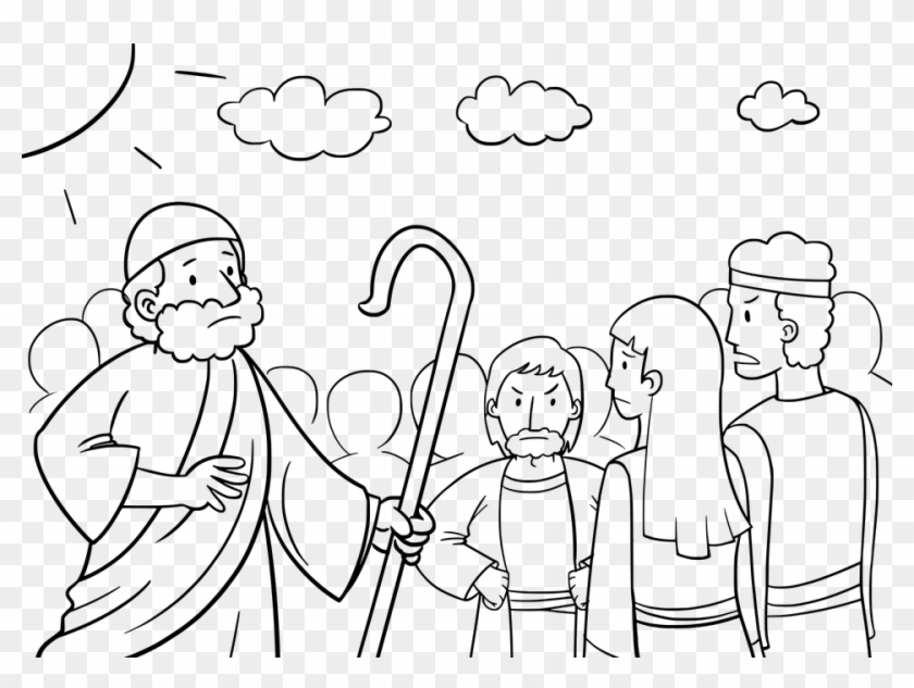 Moses Coloring Pages - Free Printables - MomJunction | 633x840