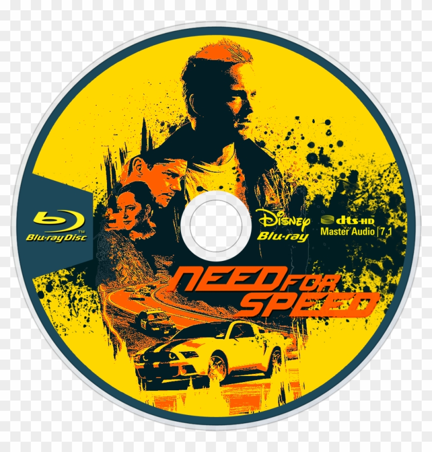 Need For Speed Bluray Disc Image - Need For Speed 2014 Bluray, HD