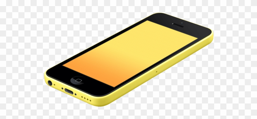 Download Mobile Mockup Iphone 5c Yellow Hd Png Download 740x740 610093 Pngfind Yellowimages Mockups