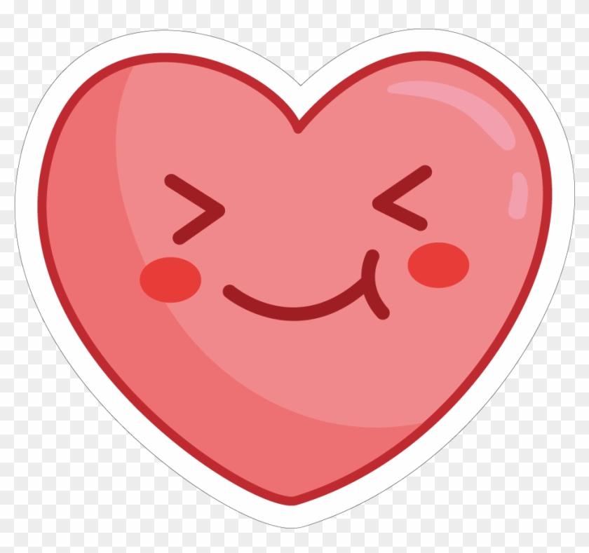 Cute Heart Png Whatsapp Sticker Love Transparent Png