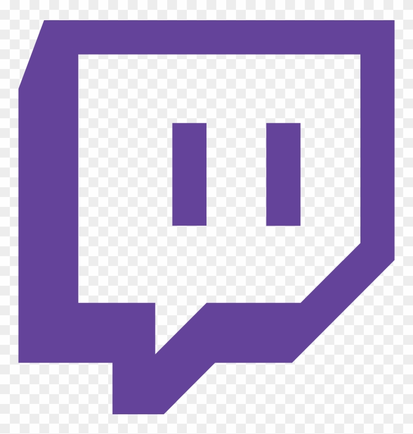 Twitch logo. Transparent background hd png