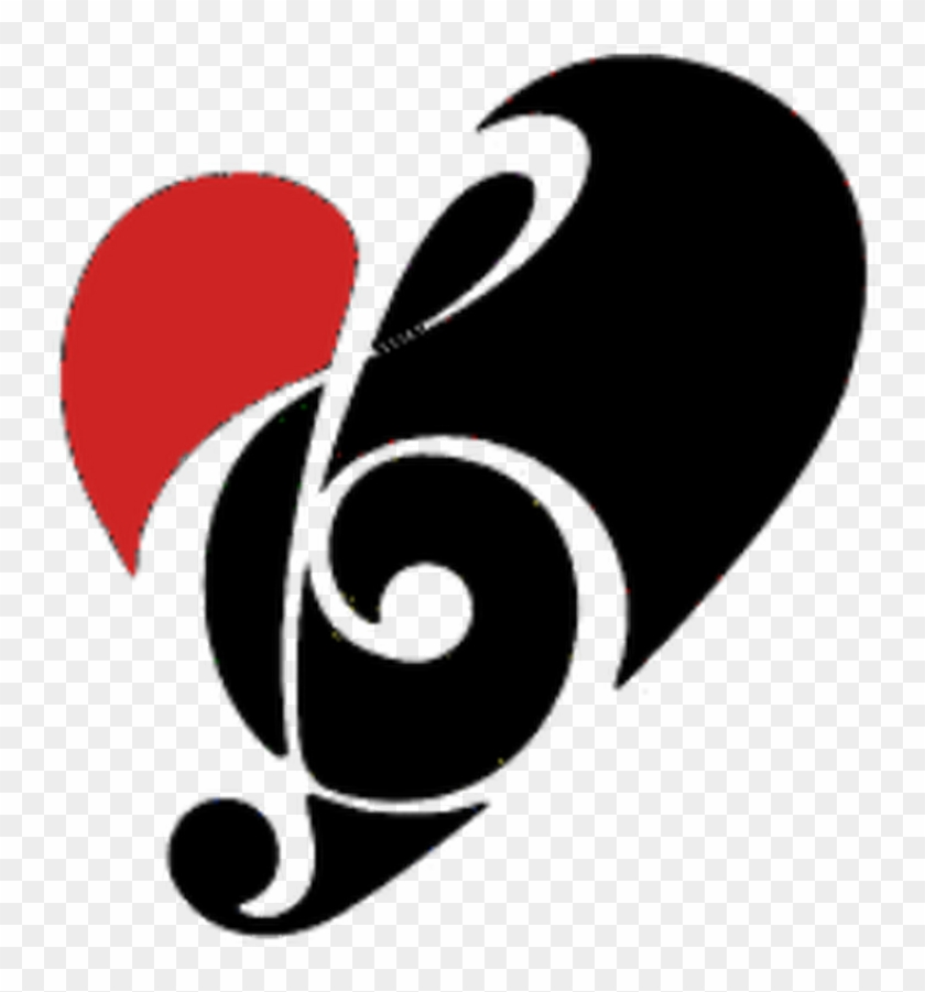 Musical Symbols Clip Music Note Heart Clipart 8 Musical - Music Note