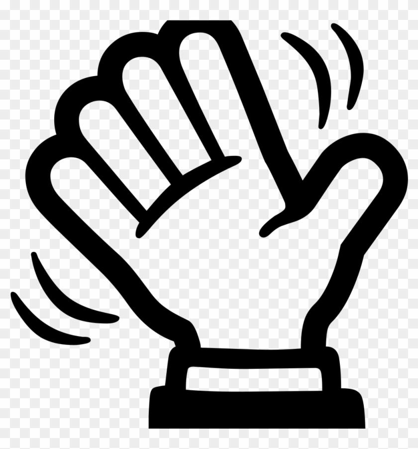 Android Emoji 1f44b - Waving Wave Hello Clipart, HD Png ...  Wave Hello Clipart