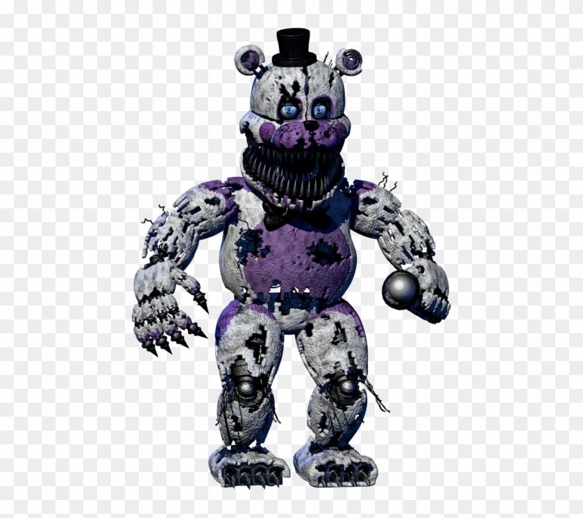 Nightmare Foxy Png - Five Nights At Freddy's Baby Nightmare