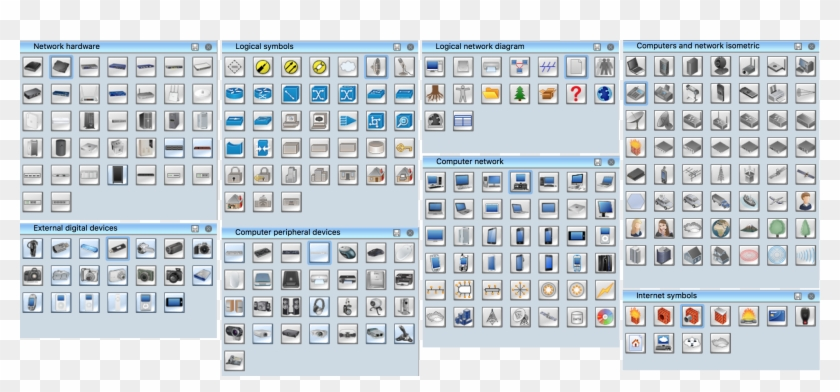wiring diagram for home computer network unique local - common symbols of  network, hd png