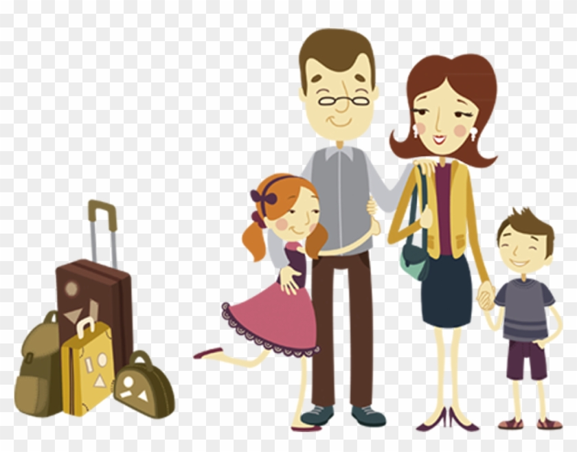 Vector Library Download Pinta Cartoon Travel Transprent Family Holiday Vector Png Transparent Png 1334x1025 6120789 Pngfind